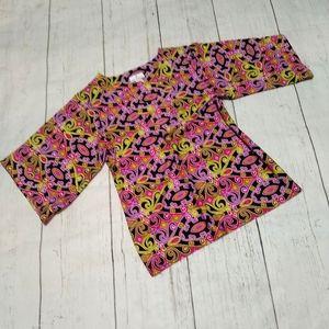 JUDE CONNALLY print tunic top, Large